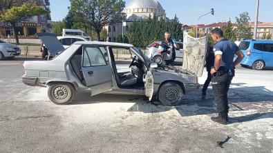 LPG'li Otomobilde Korkutan Yangin