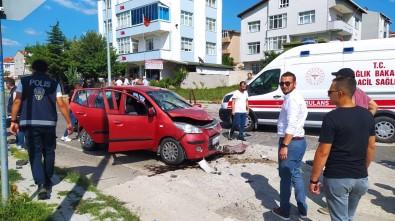 Tekirdag'da 3 Otomobil Çarpisti Açiklamasi 6 Yarali