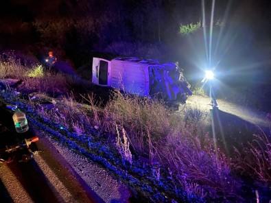 Afyonkarahisar'da Zincirleme Trafik Kazasi Açiklamasi 3 Ölü, 2 Yarali