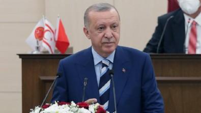Başkan Erdoğan'dan çok net Kıbrıs mesajı: Bizim için bağımsız devletler vardır