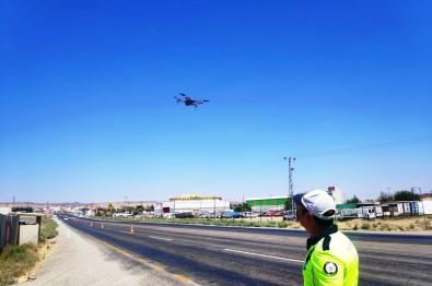 Bayram'da Kazalari En Aza Indirmek Için Dronlu Denetim Yapiliyor