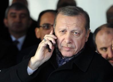 Cumhurbaskani Erdogan, Galatasaray Spor Kulübü Baskani Elmas Ve Fatih Terim Ile Görüstü