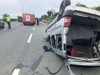 Rize'de Trafik Kazasi Açiklamasi 1 Yarali