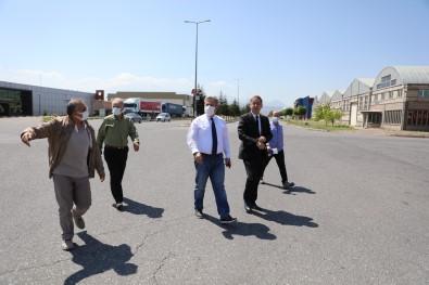 Serbest Bölge'de Sanayicilere Destek Açiklamasi 'Yeni Ve Konforlu Yollar'