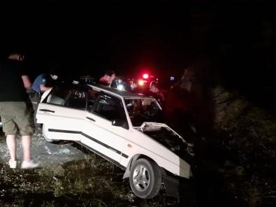 Tokat'ta Iki Otomobil Çarpisti Açiklamasi 7 Yarali