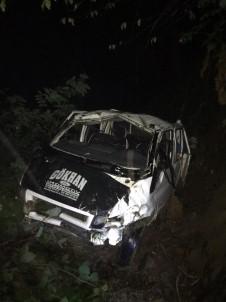 Yayladan Dönen Araç Uçuruma Yuvarlandi Açiklamasi 1 Ölü, 10 Yarali