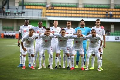 Avrupa Konfederasyon Ligi Açiklamasi  Petrocub Açiklamasi 0 - Sivasspor Açiklamasi 1 (Ilk Yari)