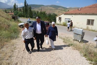 Baskan Cabbar'dan Sehit Ailelerine Bayram Ziyareti