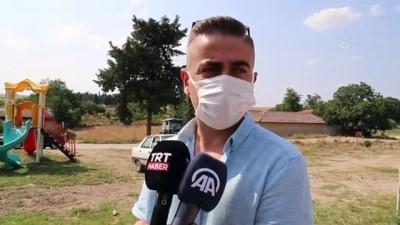 Edirne'de 'Köy Meydaninda Kurban Eti Ikrami' Gelenegi Bir Asirdir Yasatiliyor
