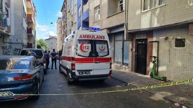 Esenler'de Yangin Çikan Evde Kadin Ölü, Kocasi Ise Bilekleri Kesik Halde Bulundu