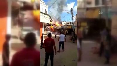 Gazze'de Bir Evde Meydana Gelen Patlamada 1 Kisi Ölü, 10 Kisi Yaralandi