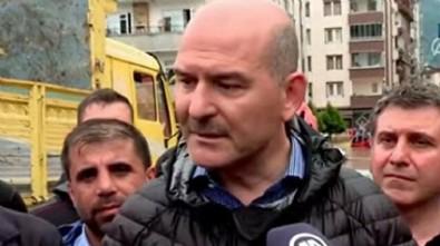 Süleyman Soylu'dan Rize ve Artvin açıklaması: Baraj patladı iddiası doğru değil