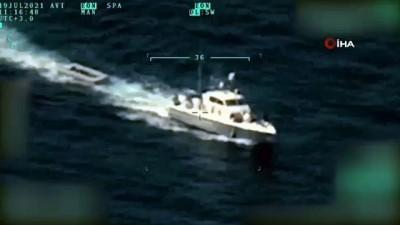 Yunanistan Tarafindan Türkiye'ye Geri Itilen 15 Düzensiz Göçmen Sahil Güvenlik Ekiplerince Kurtarildi