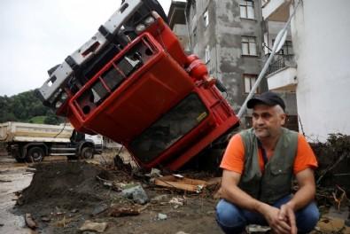 Başkan Erdoğan selin vurduğu Rize'de! Afet bölgesini inceleyip son durumu açıklayacak