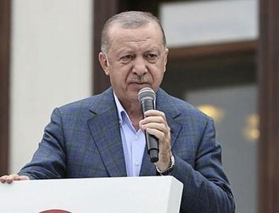 Başkan Erdoğan, selin vurduğu Arhavi'de vatandaşlara seslendi: Ödemeler en kısa zamanda yapılacak!