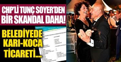 CHP'li Tunç Soyer'den bir skandal daha! Eşi Neptün Soyer'in başkan olduğu Köy-Koop'a ihale!