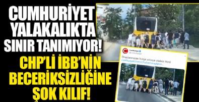 Cumhuriyet Gazetesi CHP'li İBB'nin sıvacısı çıktı: Beceriksizliği savundular