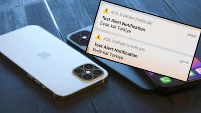 Iphone kullanıcılarına korkutan 'Evde Kal Türkiye' uyarısı!