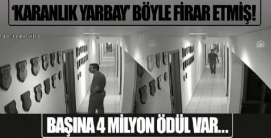 Yurtta sulh konseyindeki firari yarbay Turgay Sökmen'in Akıncı Üssü'nden kaçış görüntüleri ortaya çıktı