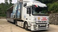 AK Parti Il Baskanligi,  Artvin Ve Rize'deki Sel Bölgesine 4 Tir Su Gönderdi