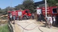 Aydin Büyüksehir Belediyesi Itfaiye Ekipleri Günü Yogun Geçiriyor