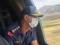 Bayram Tatilinin Son Gününde Jandarma Havadan Trafik Denetimi Yapti