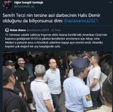 İYİ Parti Tokat İl Başkan Yardımcısı Uğur Songül Sarıtaşlı FETÖ'cü darbeci Semih Terzi'ye sahip çıktı!