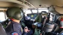 Jandarma Ekipleri Erzurum-Bingöl Kara Yolunda Helikopterle Denetim Yapti