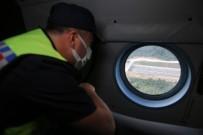 Kurban Bayrami Tatilinin Son Gününde Kuzey Marmara Otoyolu'nda Helikopterli Denetim