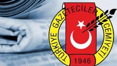 Türkiye Gazeteciler Cemiyeti, fondaş medyaya sahip çıktı