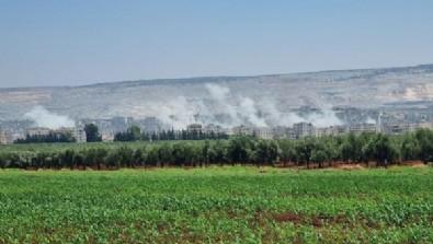 YPG/PKK Afrin'i vurdu: 7 yaralı