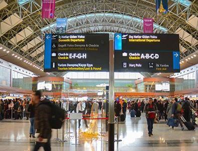 Sabiha Gökçen Havalimanı tatil dönüşü rekor kırdı!
