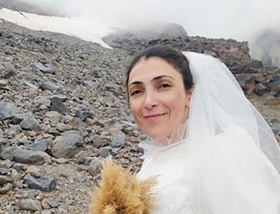 Bu kadarına da pes! Ağrı Dağı ile evlendi!