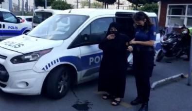 Kağıthane'de dehşete düşüren görüntüler! Engelli torununu döven 75 yaşındaki kadın tutuklandı