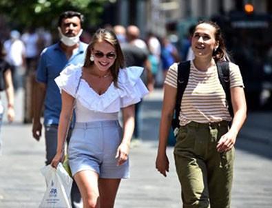 Koronavirüs Taksim'de yürüyüşe çıktı!