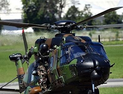 O ülkede Fransız helikopteri alıkonuldu!
