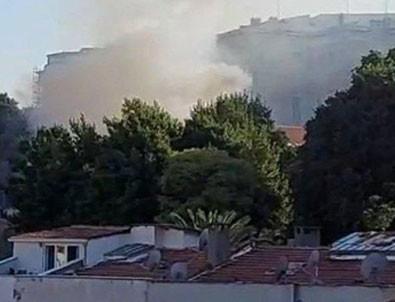 Beyoğlu'nda yangın paniği!