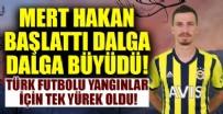 Türk futbolu yangınlar için tek yürek oldu!