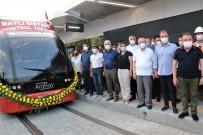 NOSTALJI - Antalya'da 3. Etap Rayli Sitemin Test Sürüsü CHP'li 10 Büyüksehir Belediye Baskaninin Katilimiyla Basladi