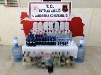 SAHTE İÇKİ - Antalya'da Kaçak Içki Operasyonu