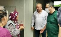HASAR TESPİT - Bursa'nin Ilçelerini Sel Vurdu...Baskan Kanar'dan Sel Magdurlarina Aninda Müdahale