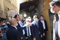MURAT KURUM - Çevre Sehircilik Bakani Murat Kurum, Mardin'de Esnafi Ziyaret Etti