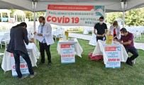 HASSASIYET - Diyarbakir Ögretmenevinde Covid-19 Asi Uygulama Noktasi Kuruldu