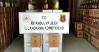 SAHTE İÇKİ - Istanbul'da Sahte Içki Operasyonu Açiklamasi 8 Bin Litre Ele Geçirildi