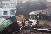 JAPONYA - Japonya'yi Vuran Sel Ve Heyelanda 300 Ev Zarar Gördü