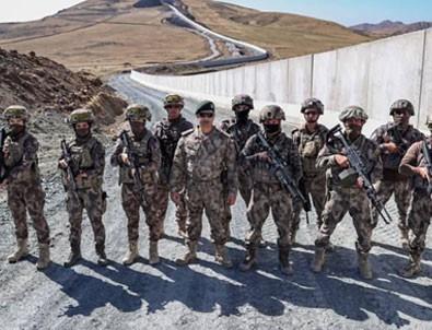750 özel harekat polisi sınıra yerleşti!