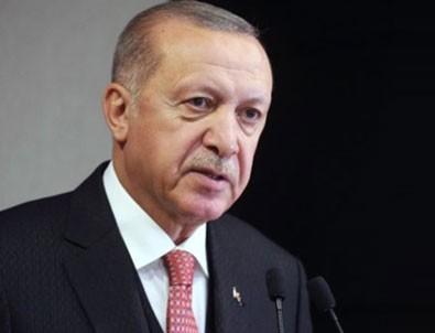 Cumhurbaşkanı Erdoğan'dan yangın paylaşımı!