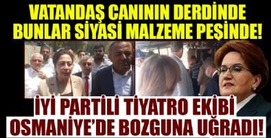 Osmaniye'de evi yanan vatandaş İYİ Parti'nin kötü emelini bozguna uğrattı!