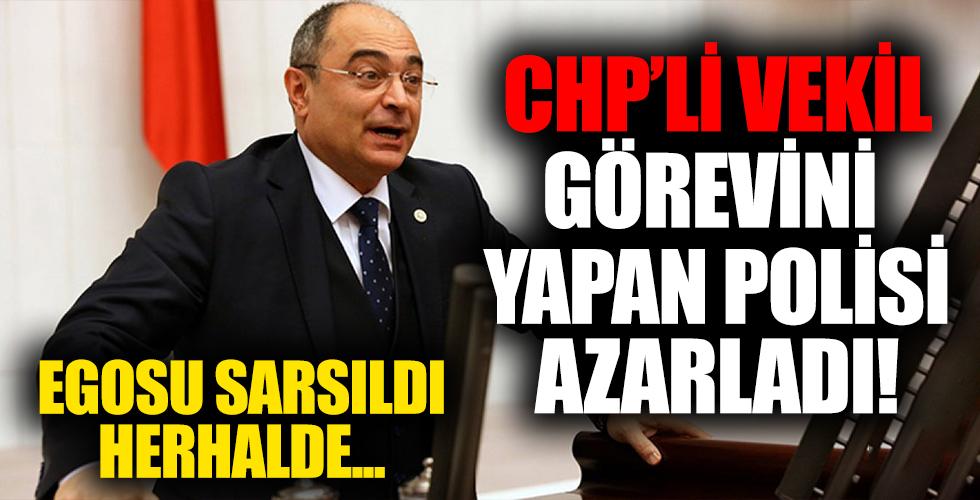 CHP'li milletvekili Aydoğan, kendisinden kimlik isteyen trafik polisine kızdı