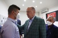 Cumhurbaskani Erdogan'dan Sahin Akdemir'in Ailesine Taziye Ziyareti